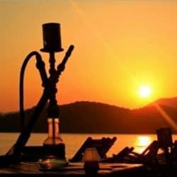 hookah sunset postcard r969783131e8947798575f4140aab3826 vgbaq 8byvr 512