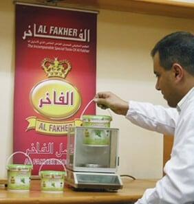 Al Fakher dohanyok vodorben