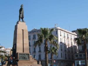 Zaghloul szobor Alexandriaban