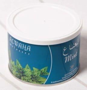Al-Waha menta dohany 250 grammos konzervdobozban