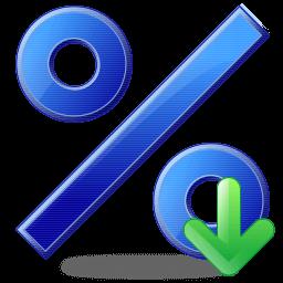 percentsigndownarrow256